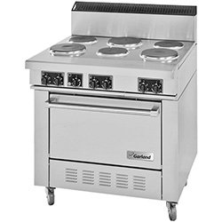 Electric Range Commercial back-8365
