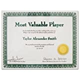 ADVANTUS Panel Wall Certificate Holder, Clear Acrylic, 8.5 x 11 Inches (75317)
