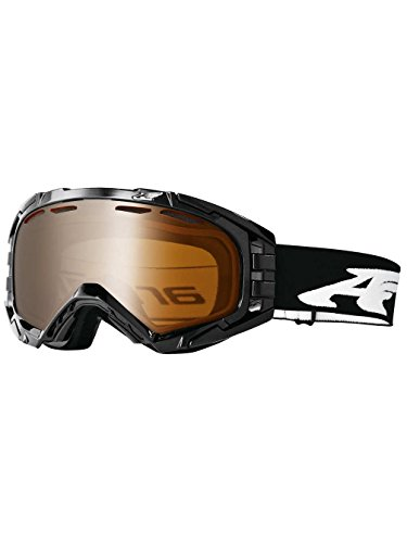 Arnette - Mercenario Maschera da sci/snowboard, unisex, MERCENARY, Midnight Black Shadow Chrome