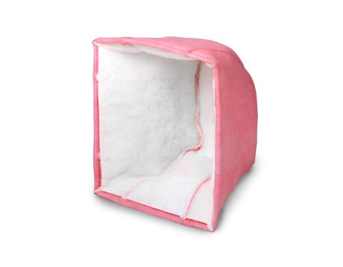 "Filtration Group 11613 3-Ply Cube Air Filter, Synthetic Polyester Media, Pink/White, 6 MERV, 1 Pocket, 24"" Height x 24"" Width x 20"" Depth (Case of 6)"