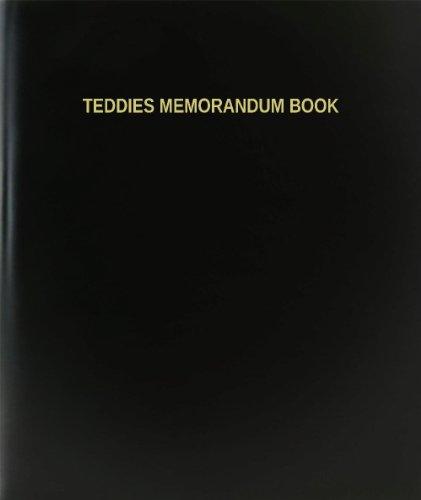 BookFactory® Teddies Memorandum Book - 120 Page,