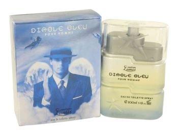 DIABLE BLEU by Creation Lamis Eau De Toilette Spray 3.4 oz for Men