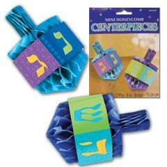Hanukkah Honeycomb Centerpiece Set - 1