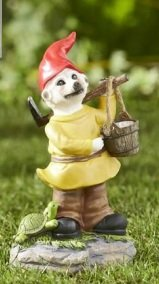 Outdoor Garden Solar Light Workman Meerkat Gnome Meergnome