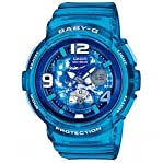 Casio Women's BGA190GL-2B Baby-G Analog-Digital Display Watch NEW