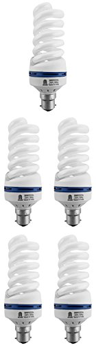 Ncore-30W-B22-CFL-Bulb-(Cool-Day-Light,-Pack-of-5)