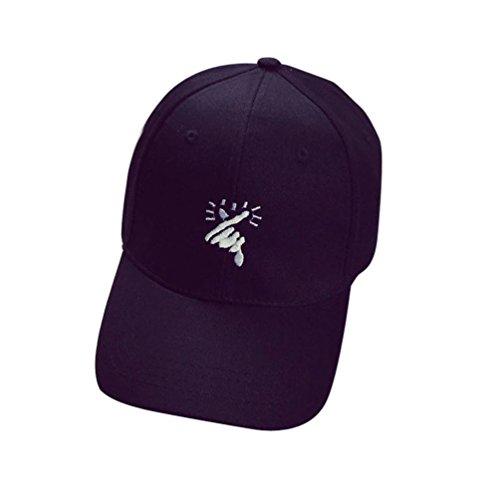 LHWY -  Cappellino da baseball  - Uomo Black Taglia unica