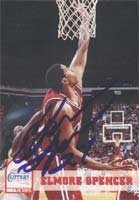 Elmore Spencer Los Angeles Clippers 1993 Skybox Autographed Hand Signed Trading Card. by Hall of Fame Memorabilia