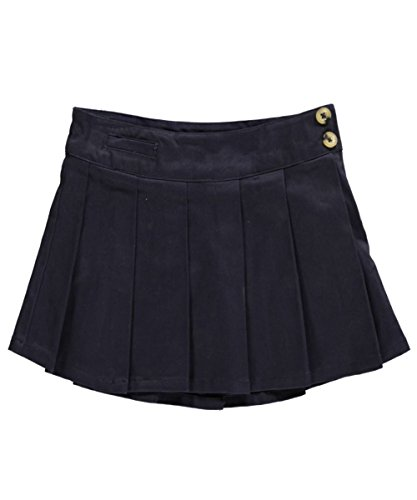 "Lee Uniforms Little Girls' ""Slip Pocket"" Scooter Skirt - navy, 6"