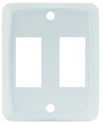 JR Products Double Switch Face Plate