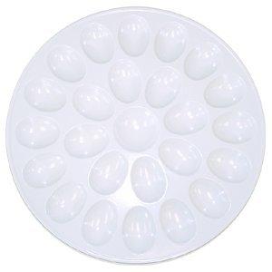 Kitchen Basics Devilled Egg Plate - Melamine - White