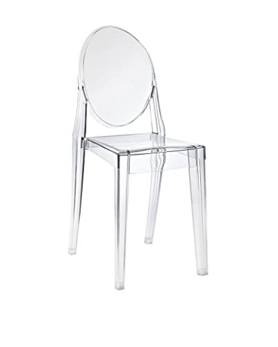 Modway Casper Dining Side Chair, Clear