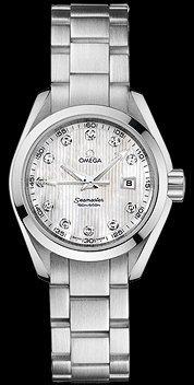 Omega New Omega Aqua Terra Quartz Ladies Watch 231.10.30.61.55.001