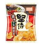 カルビー 『堅あげポテト匠味(たくみ) 十味唐辛子』X12袋(一箱)