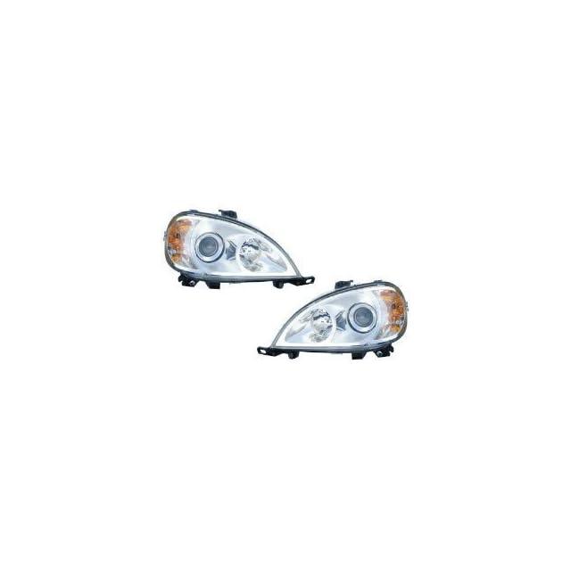 Mercedes M Class Headlight Headlamp OE Style Replacement Driver/Passenger Pai