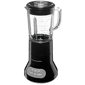 KitchenAid KSB354OB 3-Speed Classic Blender with 40-Ounce Glass Jar (Onyx Black)
