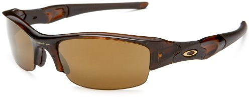 Oakley Men's Flak Jacket Iridium Polarized Sunglasses