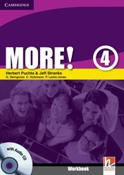 More!  4 Workbook with Audio CD: Level 4