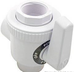Hayward Sp0730 Deluxe 3 Way Ball Valve Swimming Pool Filter Valves Patio Lawn