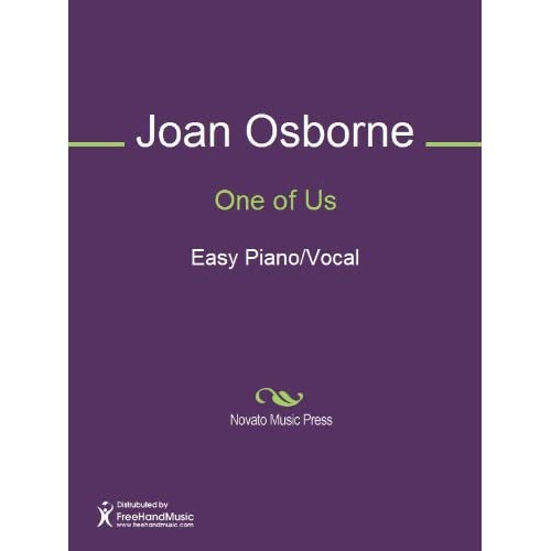 One of Us Sheet Music (Easy Piano/Vocal) Eric Bazilian