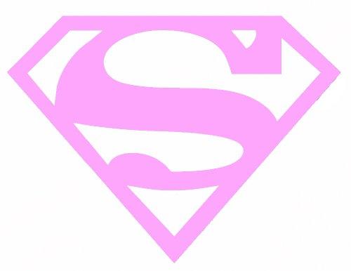 Licenses Products DC Comics Originals Supergirl Rub On Sticker