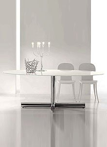Amazon.com - Bonaldo Surfer Modern Oval Dining Table by Giuseppe ...