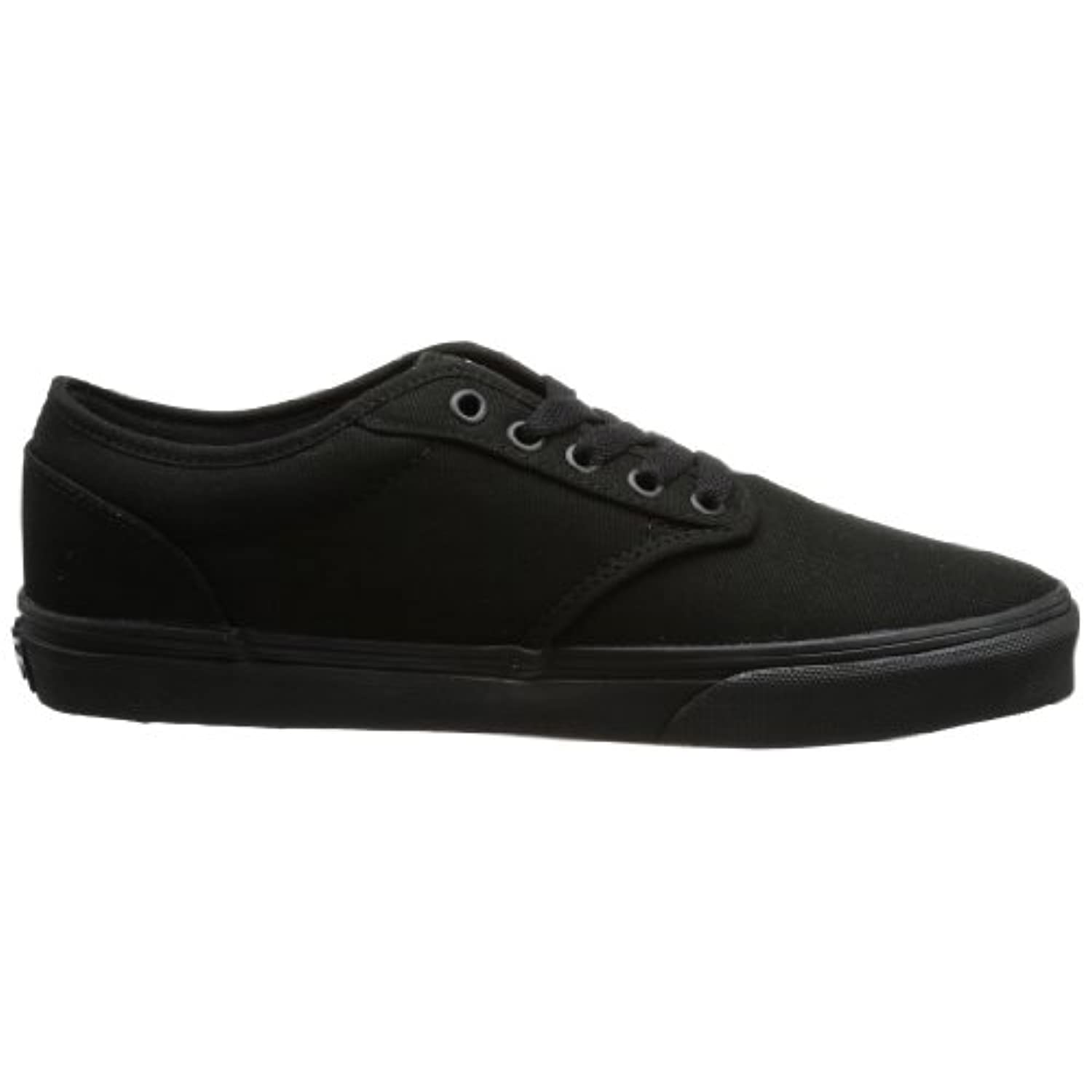 Women's Atwood (Canvas) Skateboarding Shoes Black/Black