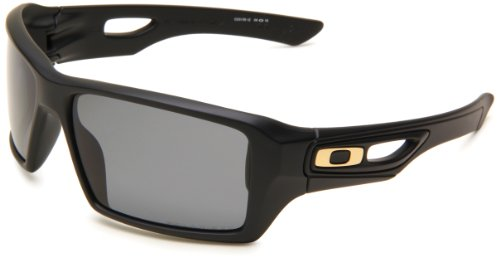 67bf55bfb3 Oakley Mens Eyepatch 2 OO9136-12 Polarized Rectangle Sunglasses