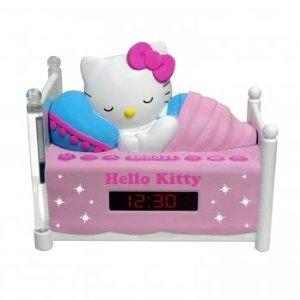 Hello Kitty Sleeping Kitty Alarm Clock Radio With Night Light front-394239