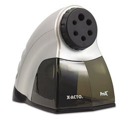 ** Prox Electric Pencil Sharpener, Silver/Black