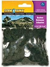 Bulk Buy Woodland Scenics 6-Pack Bushes 36 cubic inches SP4184