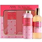 Apple Blossom by Apple Blossom Eau de Parfum Spray & Luxury Talc 100g
