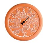 Terracotta Thermometer - Rochester - Frost Resistant Terracotta - 30cm