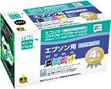 エコリカ リサイクルインク ECI-E324P/BOX EPSON用 IC4CL32シリーズ 4個パック