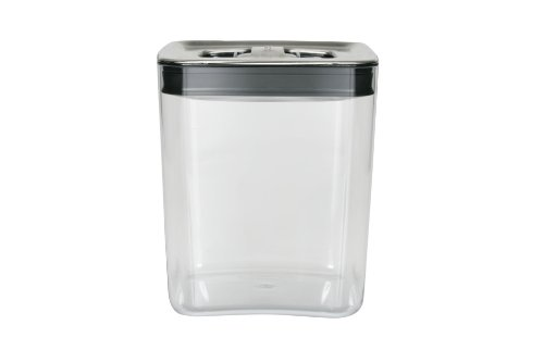 Click Clack Cube 3-Quart Storage Container with Stainless Steel Lid (Click Clack Stainless Steel compare prices)