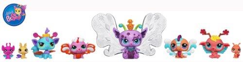Imagen principal de Littles PetShop - Pack Colección Hadas Mágicas - Baile de máscara (Hasbro - 99949 148) (a partir de 4 años) (pilas incluidas)