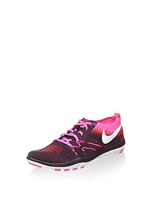 Nike Zapatillas Free TR Focus Flyknit (Morado / Fucsia)