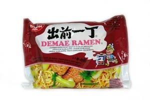 Nissin Demae Ramen japonais soupe de nouilles, saveur de boeuf - 100g