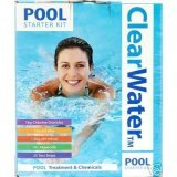 Clearwater Swimming Pool Chemical Treatment Starter Kit - Lay Z Spa Chemicals & Accessories (Pool Starter Pack) 0.5