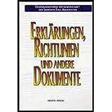 Erkl�rungen, Richtlinien und andere Dokumente - Statements, guidelines & other documents <dt.>