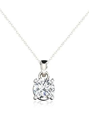 Friendly Diamonds Conjunto de cadena y colgante FDP6258W Oro Blanco