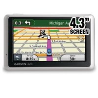 Garmin nüvi 1300 4.3-Inch Portable GPS Navigator with Lifetime Map Updates