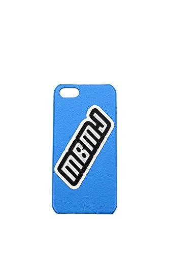 Iphone-Taschen-Marc-Jacobs-Unisex-Leder-Leuchtblau-Schwarz-und-Wei-M00046071SZELECTRICBLUE-Blau-6x125-cm