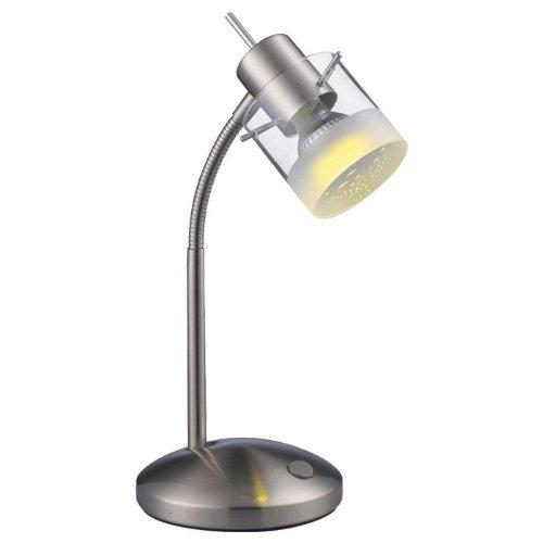 weiss schwenkbar// blendfrei Höhe 52 cm Moderne LED Tischleuchte 1xGU10