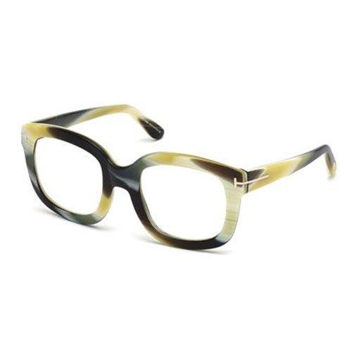 [Tom Ford Eyeglasses FT5315 062 Shiny Green Horn] (Sheriff Hats For Sale)