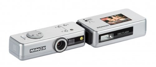 Minox Digital Spy Camera silver