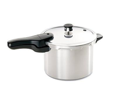 Presto 01264 6-Quart Aluminum Pressure Cooker, 2 Pressure Cookers from Presto