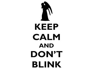 Keep Calm and Don't Blink - DW -1 - Vinyl Decal