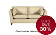 Fenton Small Sofa - Leather