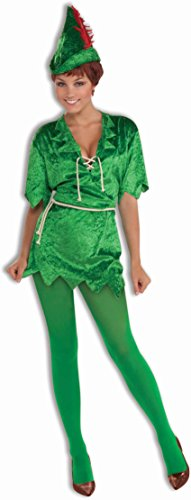 Forum Novelties Women's Peter Pan Costume, Green, Medium/Large (Peter Pan Tunic compare prices)